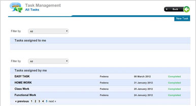School ERP Task Management